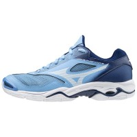 Mizuno Wave Phantom 2 Blue/White - Dames